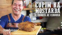 Cupim na Mostarda e Farofa de Cenoura