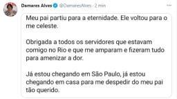 Pai da ministra Damares Alves morre em São Carlos
