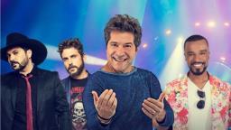 Daniel, Edson e Hudson e Alexandre Pires fazem show em Ribeirão