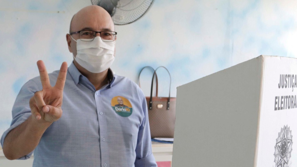 Dário Saadi foi eleito prefeito de Campinas (Foto: Denny Cesare/Código19) - Foto: (Foto: Denny Cesare/Código19)