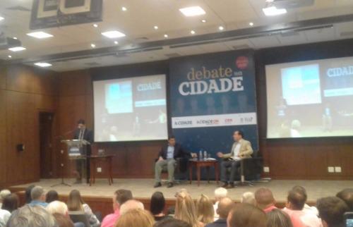 Monize Zampieri / A Cidade - Debate entre candidatos à Prefeitura de Ribeirão Preto