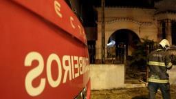 Defesa Civil interdita casa paroquial que pegou fogo