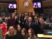 Estudantes de Araraquara participam de atividades na ONU, nos Estados Unidos