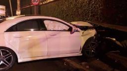 Delegado da PF causa acidente e é autuado por embriaguez
