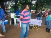 Desabrigados do assentamento estão acampados em Bueno de Andrada