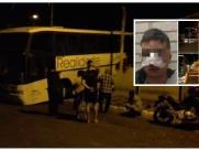 Homem é preso após furtar ônibus e invadir residências em Descalvado