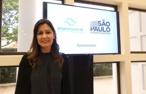 Ana Paula Shuay levou ao Agenda Ribeirão anúncio de verba de R$ 200 milhões para financiamentos - Foto: Isabella Grocelli