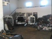PM encontra desmanche de veículos no Satélite Iris