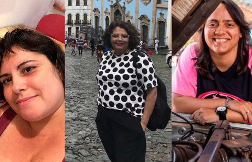 Sílvia, Thelma e Flávia: luta pela inclusão em diferentes pontos de vista | Fotos: divulgação / Weber Sian - Foto: Divulgação
