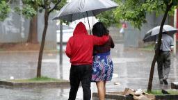 Terça-feira será de tempo nublado e chuvoso em Campinas