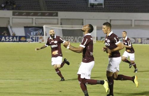 Diego Gonçalves marcou seu primeiro gol com a camisa da Ferroviária. (Foto: Colaboração/Tetê Viviani) - Foto: Colaboração/Tetê Viviani