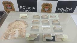 Polícia Civil prende casal por golpes com cartão bancário