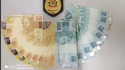 Homem é preso com 2 mil em notas falsas em Jaguariúna