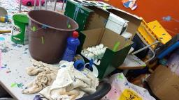 Creche é vandalizada às vésperas do retorno das aulas