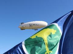 Dirigível - Foto: ACidade ON - São Carlos