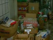 População doa três vezes o volume de alimentos furtado do Orfanato Renascer
