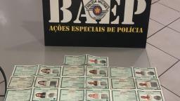 Baep prende casal por venda de documentos falsos