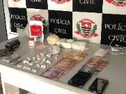 Dise prende homem com um quilo de cocaína na Vila Xavier