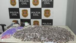 Polícia Civil apreende mais de três mil porções de droga