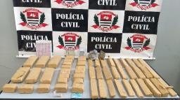 Polícia Civil apreende 12 kg de maconha em área de lazer