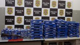 Polícia Civil apreende 176 kg de maconha em casa de Ribeirão Preto