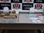 Dois são presos por tráfico de drogas no Quintino Facci II