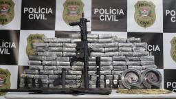 Polícia de Campinas apreende 100 kg de cocaína em Elias Fausto