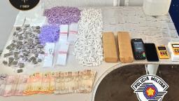 Baep prende casal por tráfico de drogas no Vida Nova, em Campinas