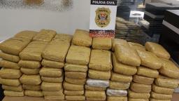 Polícia prende procurado da Justiça com 100 kg de maconha em Campinas