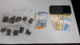 Suspeitos de tráfico de drogas são detidos na CHDU