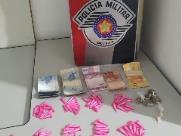 Jovem é detido com cocaína, maconha e crack no Aracy