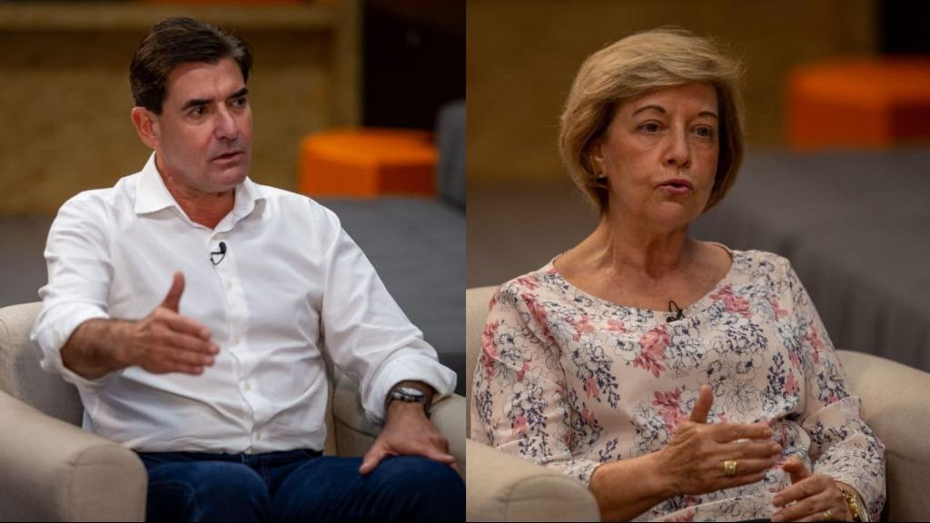 Duarte Nogueira (PSDB) e Suely Vilela (PSB) (Fotos: Weber Sian/ACidade ON) - Foto: Weber Sian / A Cidade