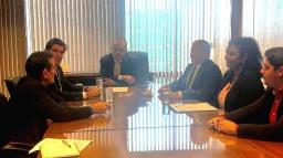 Em Brasília, Nogueira discute mudanças no IPM de Ribeirão