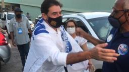 Veja imagens da festa no comitê do tucano Duarte Nogueira