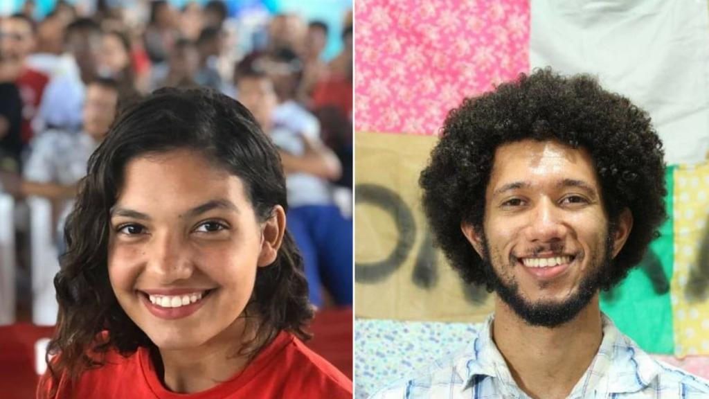Duda Hidalgo do PT e Ramos Faustino do PSOL se declaram pretos (Foto: Redes Sociais / reprodução) - Foto: ACidade ON - Ribeirão Preto