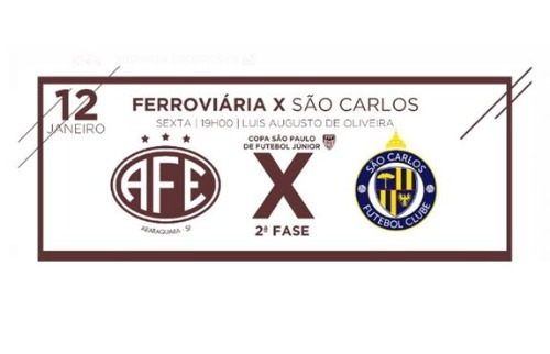 ACidade ON - São Carlos - Duelo entre São Carlos e Ferroviária pela Copinha