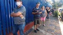 Saúde imuniza 21 mil pessoas contra gripe em dois dias