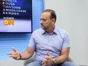 Edinho concedeu entrevista 'ao vivo' ao ACidadeOn Araraquara (Amanda Rocha/ACidadeOn Araraquara) - Foto: Amanda Rocha/ACidadeOn Araraquara
