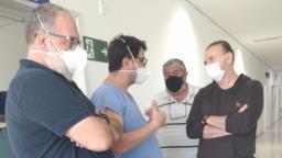 Adauto segue em estado grave e Edinho faz visita em hospital