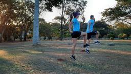 Exercício funcional para corredores