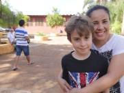 Crianças acompanharam o dia de votação em Ribeirão Preto