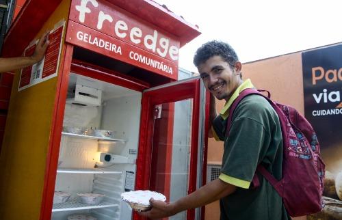 Elias é um dos beneficiados da iniciativa (Amanda Rocha/ACidadeOn Araraquara) - Foto: Amanda Rocha/ACidadeOn Araraquara