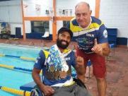 Após sofrer dois acidentes e ficar tetraplégico, atleta de São Carlos se torna Bicampeão Brasileiro de natação