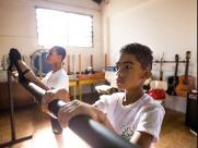 Meninos de Ribeirão Preto disputam final do balé Bolshoi em Joinville