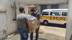 Urnas são distribuídas aos locais de votação em Araraquara