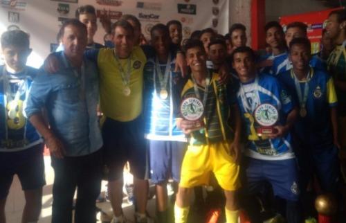 Divulgação - Equipe conquistou título inédito