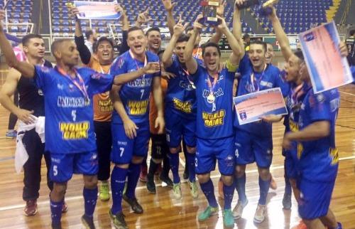 Os Campeões da Bola - Equipe de Futsal começa o ano encarando o campeão brasileiro da modalidade (Foto: Os Campeões da Bola)