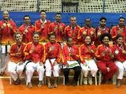Karatê garante ouro nos Jogos Regionais de Matão