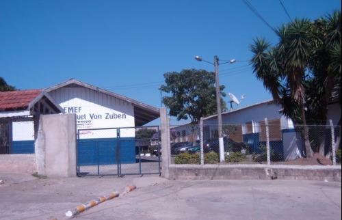 Escola municipal vistoriada: problemas estruturais na cozinha - Foto: Divulgação
