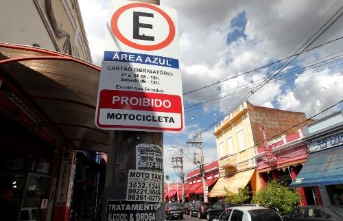 Matheus Urenha / A Cidade - Estacionamento no Centro de Ribeirão Preto